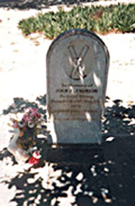 Snowshoe Thompson's grave
