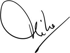 Mike Finding's signature - image